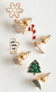 Christmas Holiday Earrings Set