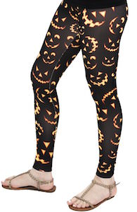 Women's Halloween Jack-O'-Lantern Leggings