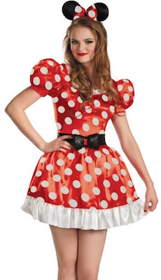 Women's Minnie Mouse Halloween Costume