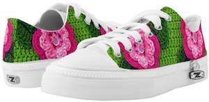 Floral Knitting Shoes