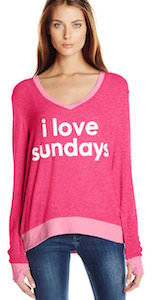 I Love Sundays Sweatshirt