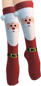 Santa Claus Christmas Socks
