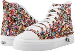 Rainbow Sprinkles Hightop Sneakers