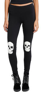 Women's skull leggings
