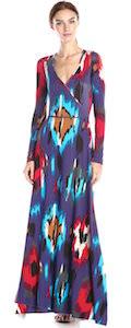 Long Maxi Dress With Fun Pattern