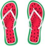 Women's Watermelons Flip Flops