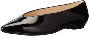 Nine West Trophywife Black Flat Shoes
