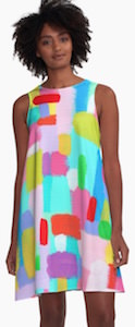 Bubblegum Dream A-line Dress