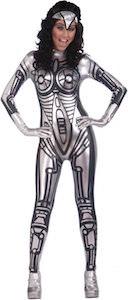 Women's Sexy Robot Halloween Costume