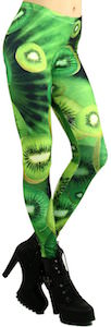 Green Kiwi Leggings