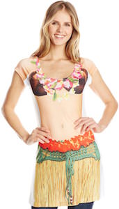 Hula Girl Costume Dress