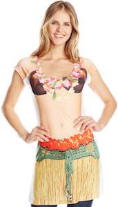 Hula Girl Costume Dress