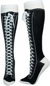 Converse sneaker socks knee high