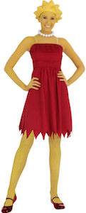 Women's Lisa Simpson Halloween Costume