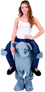 Elephant Adult Piggyback Ride Costume