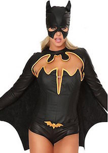 Women's Super Sexy Batman Costume