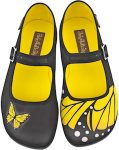 Butterfly Design Marry Jane Flats