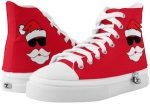 Cool Santa Canvas Sneakers