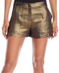 Metallic Gold Shorts