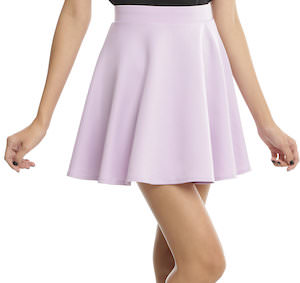Lavender Swing Skirt