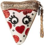 Pizza Wristlet Handbag
