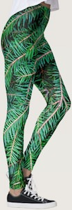 Fir Tree Christmas Leggings