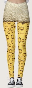 Beer Print Leggings