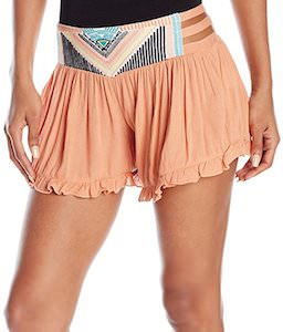 Ruffle Hem Women's Warrior Shorts