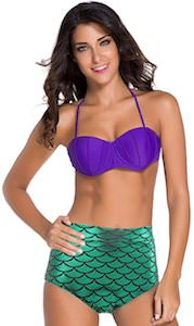 Women's Mermaid Bikini Set