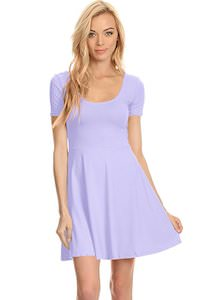 Women's Fit And Flare Dress that comes in many fun colors