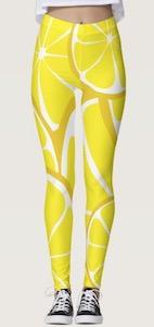 A Slice Of Lemon Leggings