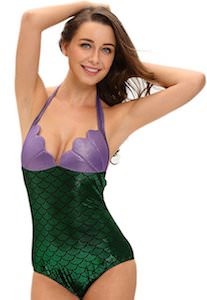 Women's Mermaid Costume And Swimsuit