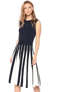 Ted Baker Black And White Roberti Dress