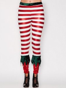 Elf Costume Leggings
