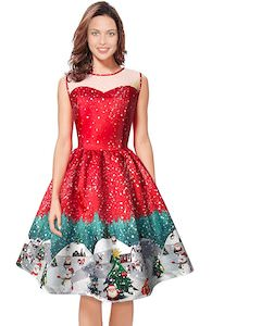 Holiday Town Christmas Dress