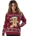 Merry Xmas Gingerbread Man Sweater
