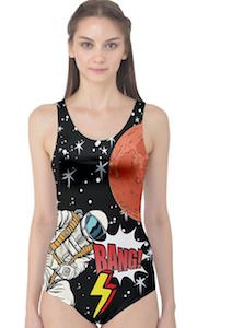 Women's Astronaut Swimsuit