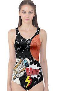 Women's Astronaut Swimsuit