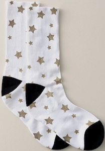 Golden Stars Socks