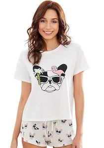 Womens Puppy Pajamas