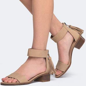 Block Heel Vegan Sandals