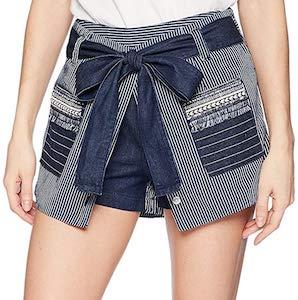 Striped Layered Shorts