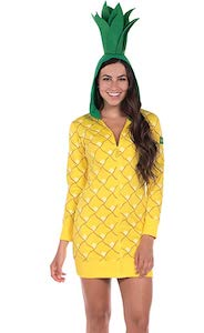 Women's Pineapple Costume
