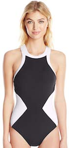 Black And White Diamond Shapes Swimsuit
