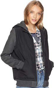Women's Jacket Style Fleece Hoodie