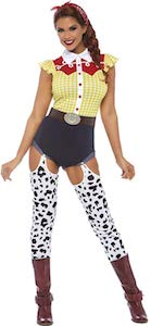 Women's Sexy Cowgirl Costume
