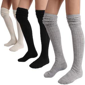 Slouch Top Knee Socks