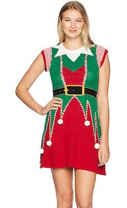 Women's Elf Costume Dress