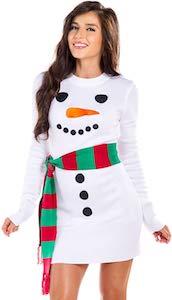 Women's Snowman Dress