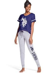 Women's U.S. Polo Assn. Pajama Set